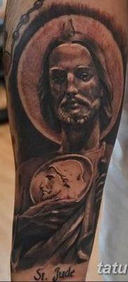 Фото тату икона святого 29.06.2019 №052 – tattoo icon of saint – tatufoto.com
