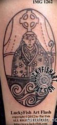 Фото тату икона святого 29.06.2019 №054 – tattoo icon of saint – tatufoto.com