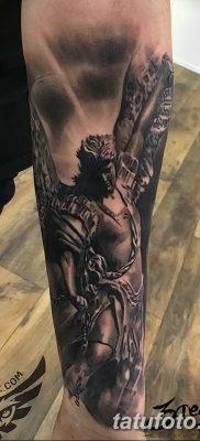 Фото тату икона святого 29.06.2019 №056 – tattoo icon of saint – tatufoto.com