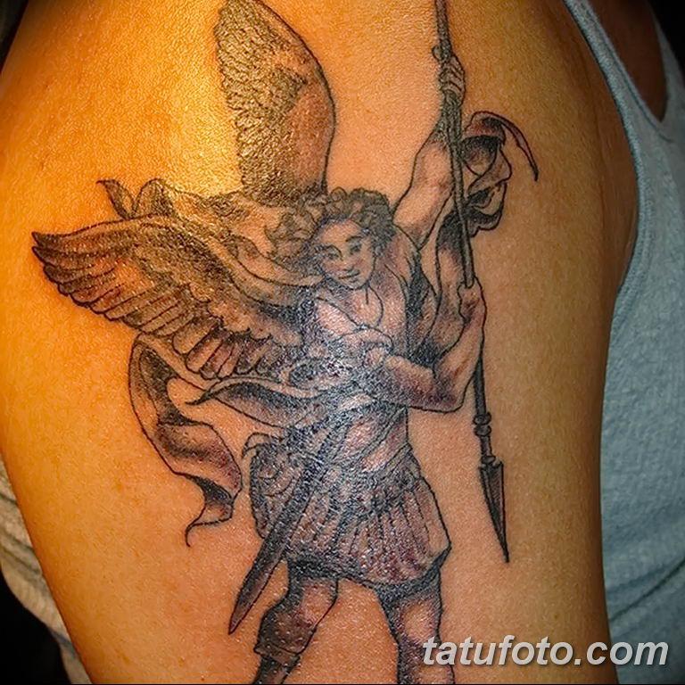 Фото тату икона святого 29.06.2019 №059 - tattoo icon of saint - tatufoto.com
