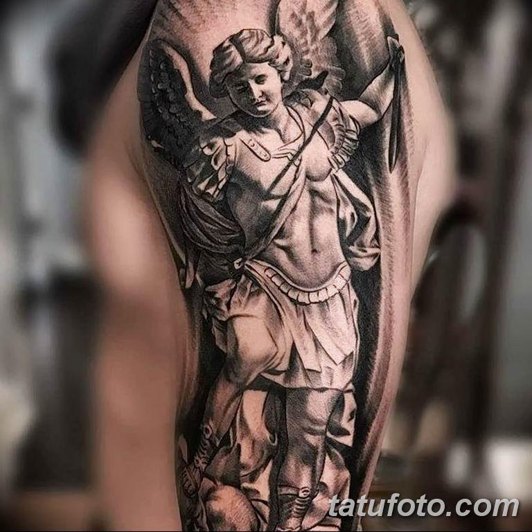 archangel michael tattoo - 650×650