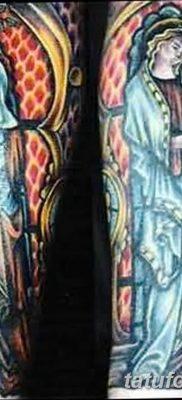 Фото тату икона святого 29.06.2019 №062 – tattoo icon of saint – tatufoto.com