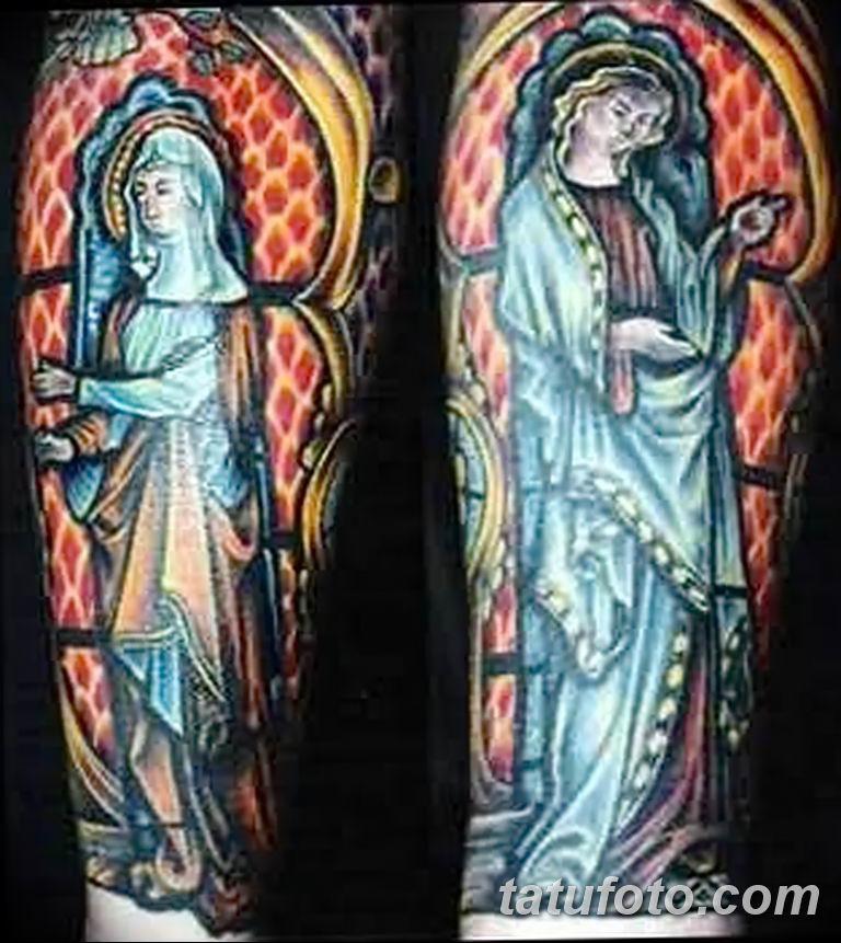 Фото тату икона святого 29.06.2019 №062 - tattoo icon of saint - tatufoto.com