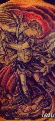 Фото тату икона святого 29.06.2019 №063 – tattoo icon of saint – tatufoto.com