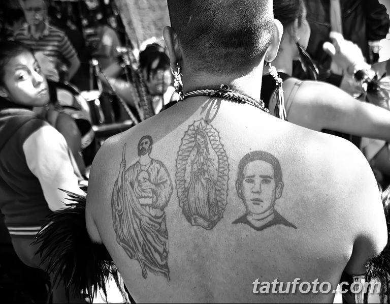 Фото тату икона святого 29.06.2019 №064 - tattoo icon of saint - tatufoto.com