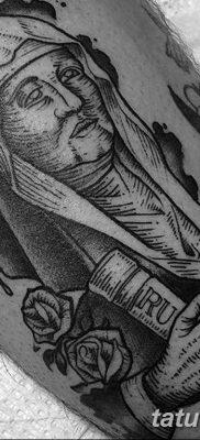 Фото тату икона святого 29.06.2019 №067 – tattoo icon of saint – tatufoto.com