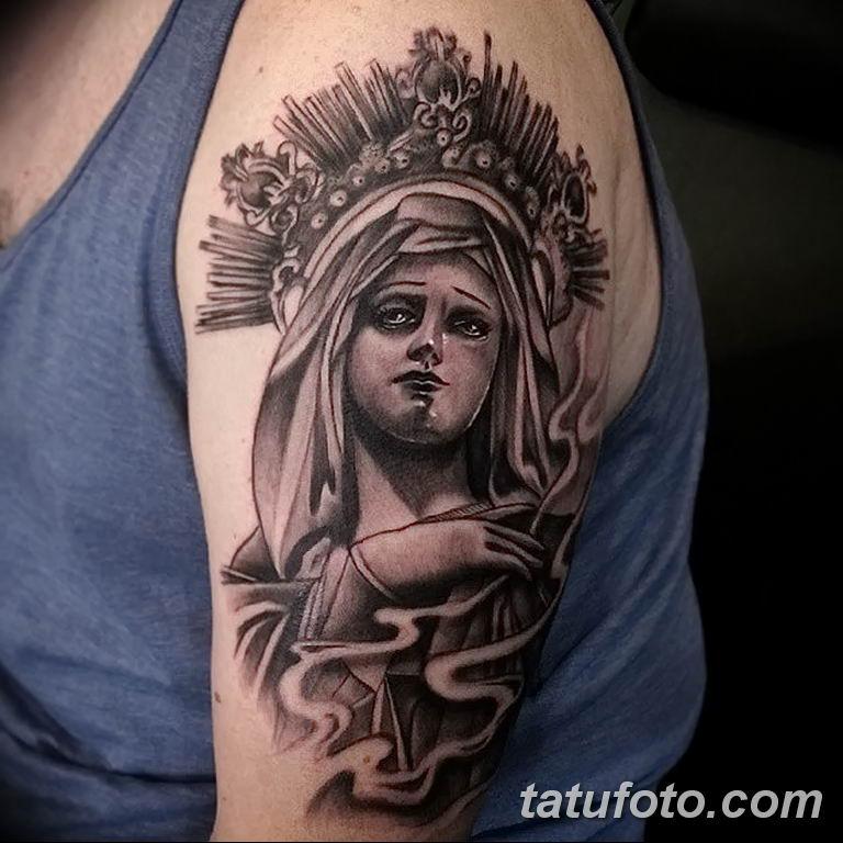 Фото тату икона святого 29.06.2019 №070 - tattoo icon of saint - tatufoto.com