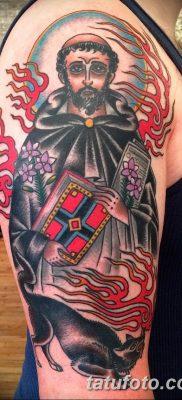Фото тату икона святого 29.06.2019 №073 – tattoo icon of saint – tatufoto.com