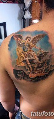 Фото тату икона святого 29.06.2019 №074 – tattoo icon of saint – tatufoto.com