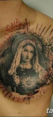 Фото тату икона святого 29.06.2019 №076 – tattoo icon of saint – tatufoto.com