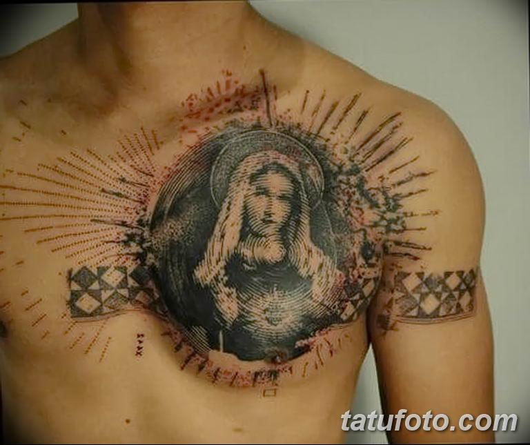 Фото тату икона святого 29.06.2019 №076 - tattoo icon of saint - tatufoto.com