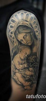 Фото тату икона святого 29.06.2019 №078 – tattoo icon of saint – tatufoto.com