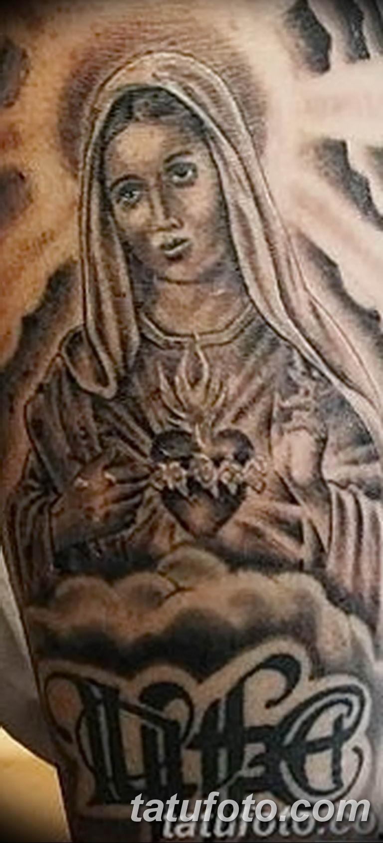 Фото тату икона святого 29.06.2019 №079 - tattoo icon of saint - tatufoto.com