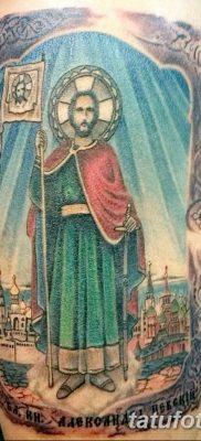 Фото тату икона святого 29.06.2019 №081 – tattoo icon of saint – tatufoto.com