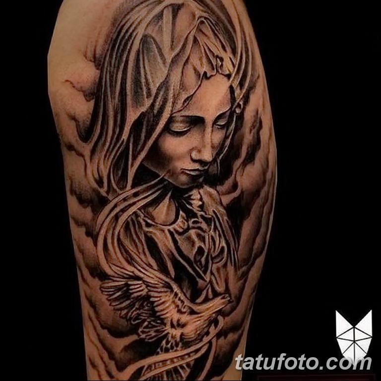 Фото тату икона святого 29.06.2019 №082 - tattoo icon of saint - tatufoto.com