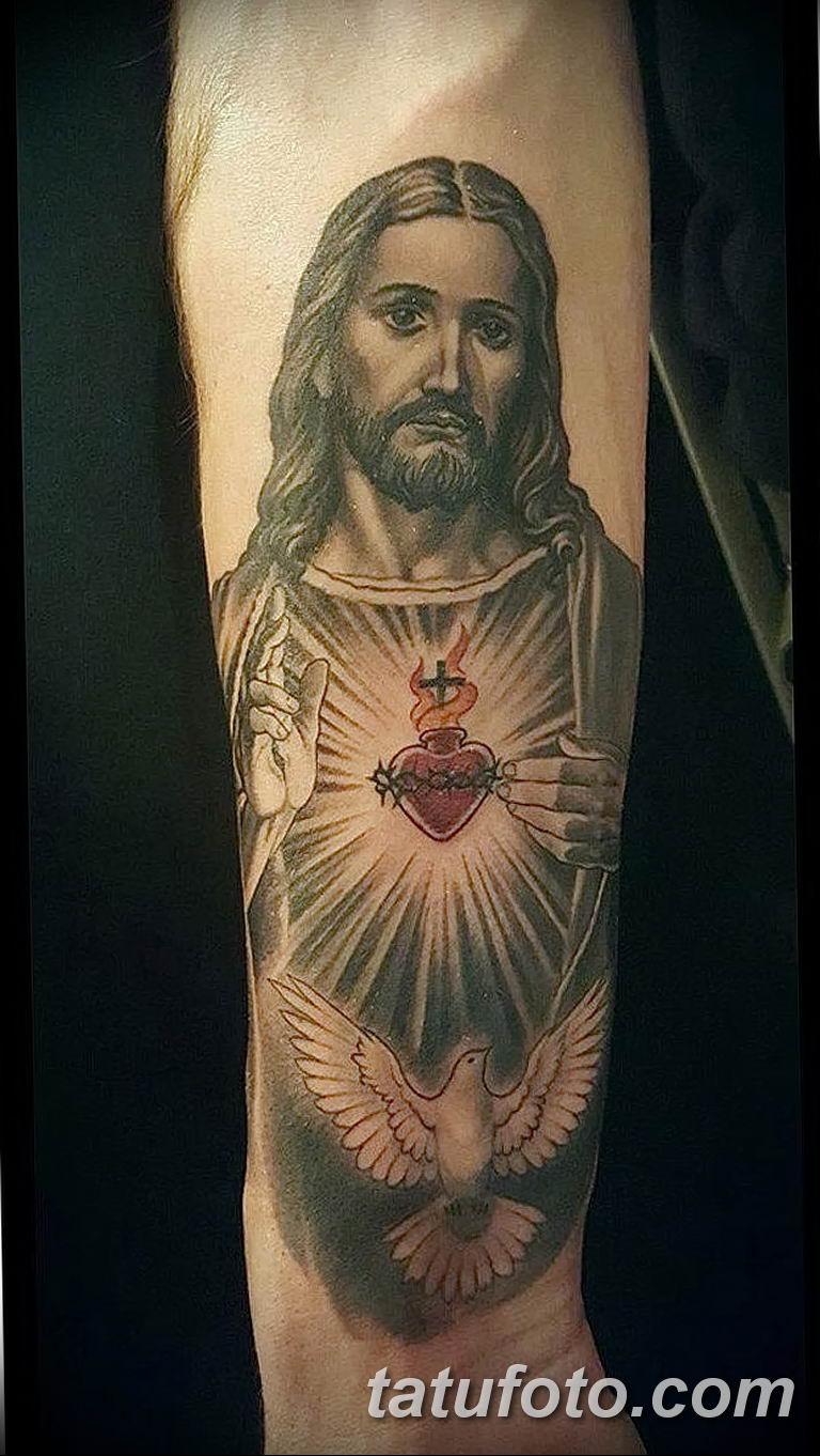 Фото тату икона святого 29.06.2019 №083 - tattoo icon of saint - tatufoto.com