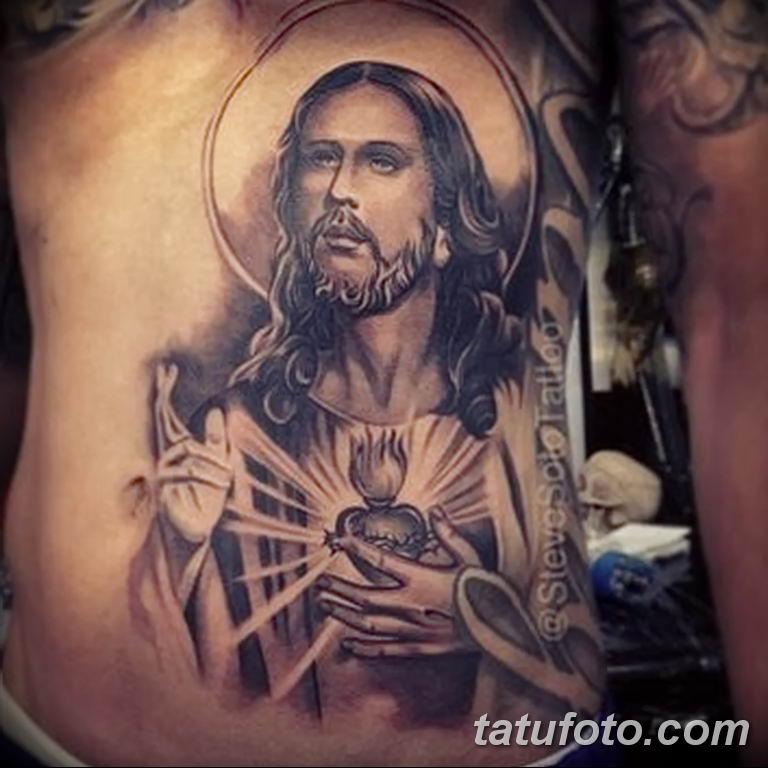 Фото тату икона святого 29.06.2019 №085 - tattoo icon of saint - tatufoto.com