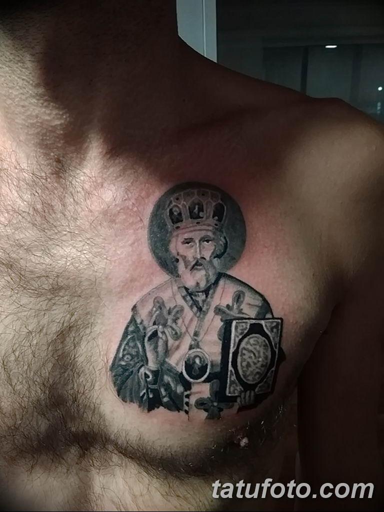 Фото тату икона святого 29.06.2019 №086 - tattoo icon of saint - tatufoto.com