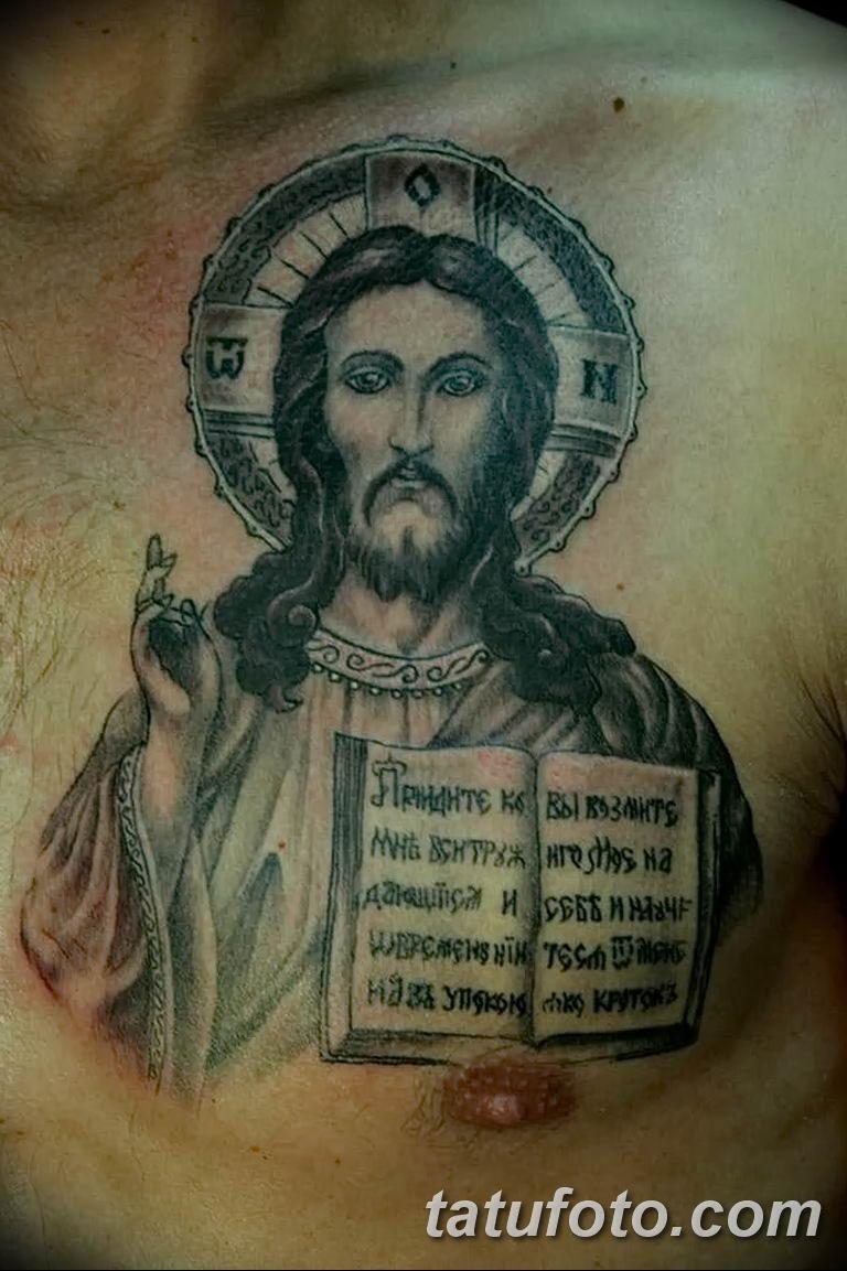 Фото тату икона святого 29.06.2019 №087 - tattoo icon of saint - tatufoto.com