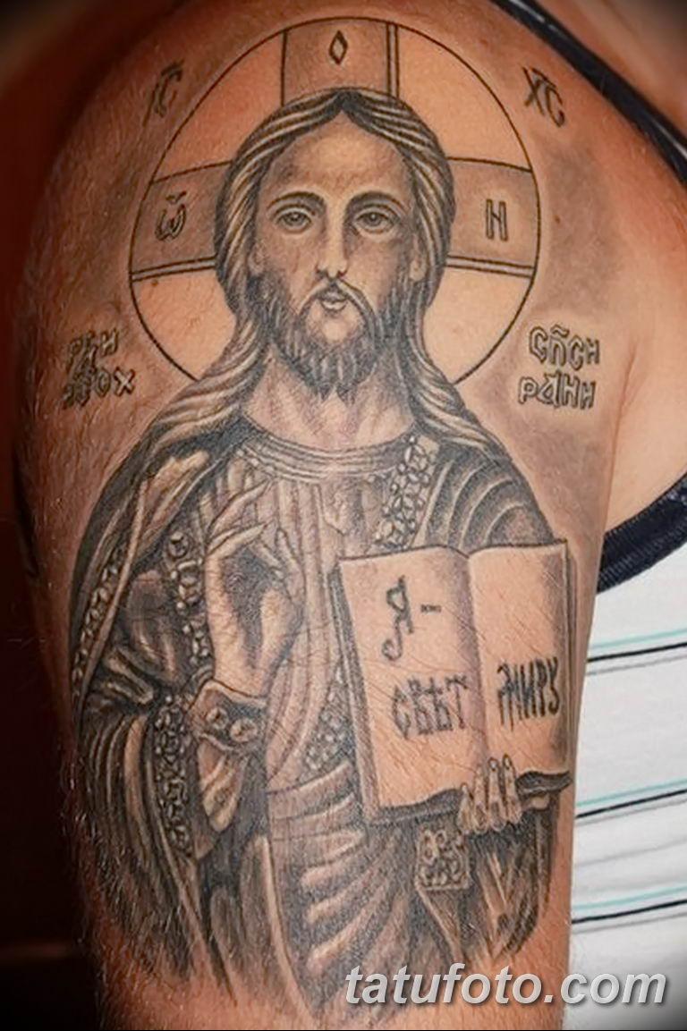 Фото тату икона святого 29.06.2019 №091 - tattoo icon of saint - tatufoto.com