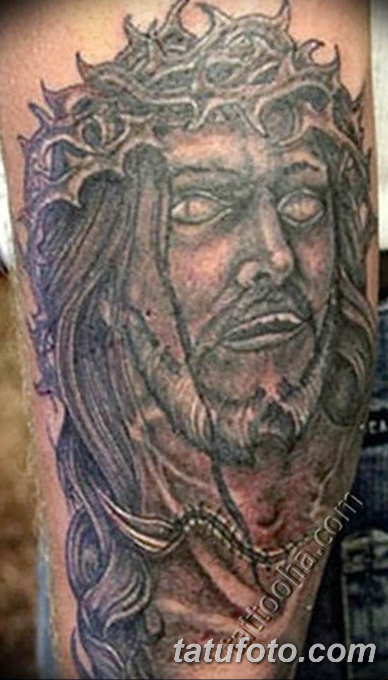 Фото тату икона святого 29.06.2019 №094 - tattoo icon of saint - tatufoto.com