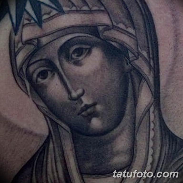 Фото тату икона святого 29.06.2019 №096 - tattoo icon of saint - tatufoto.com