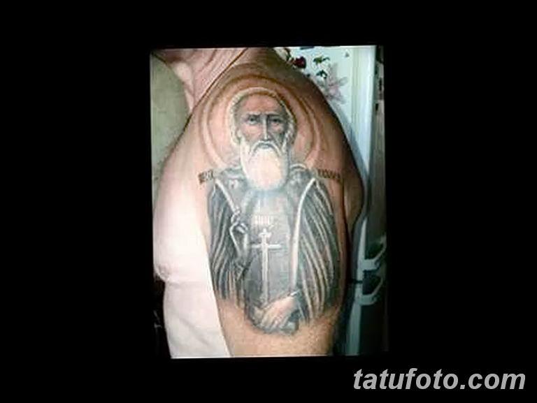 Фото тату икона святого 29.06.2019 №098 - tattoo icon of saint - tatufoto.com