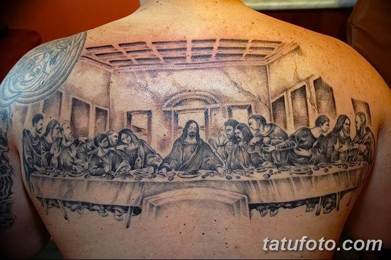 Фото тату икона святого 29.06.2019 №099 - tattoo icon of saint - tatufoto.com