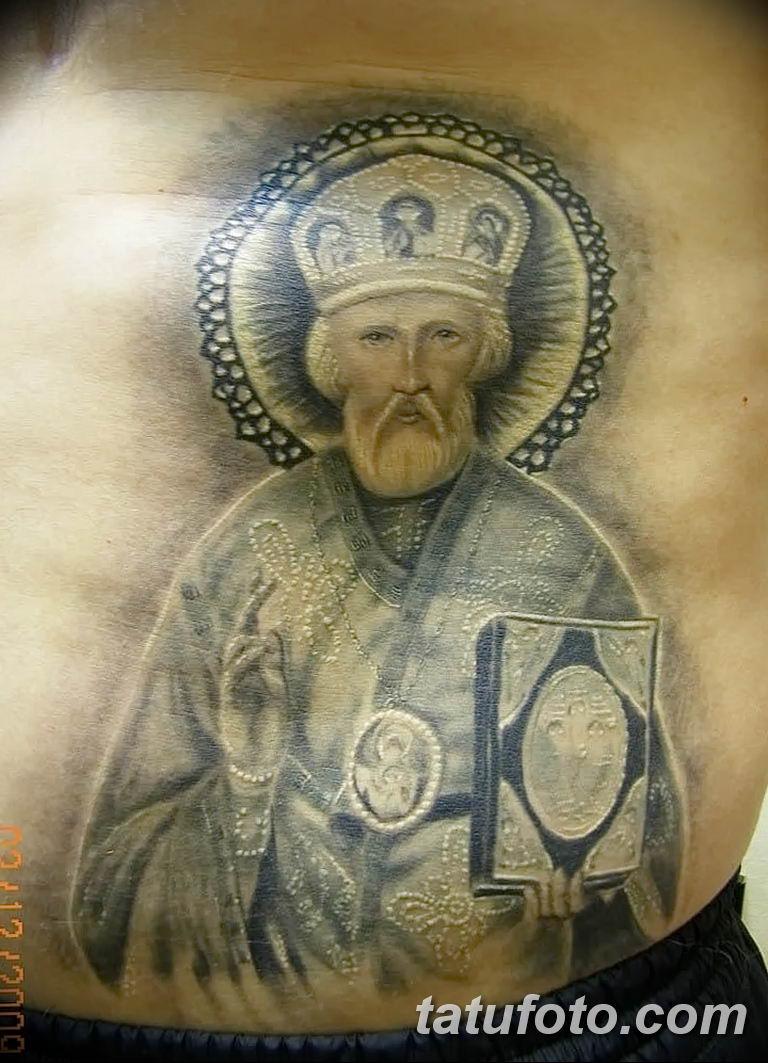 Фото тату икона святого 29.06.2019 №100 - tattoo icon of saint - tatufoto.com