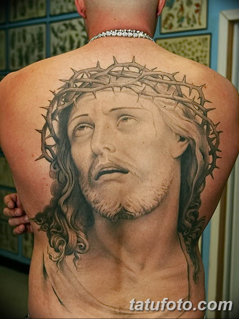 Фото тату икона святого 29.06.2019 №102 - tattoo icon of saint - tatufoto.com