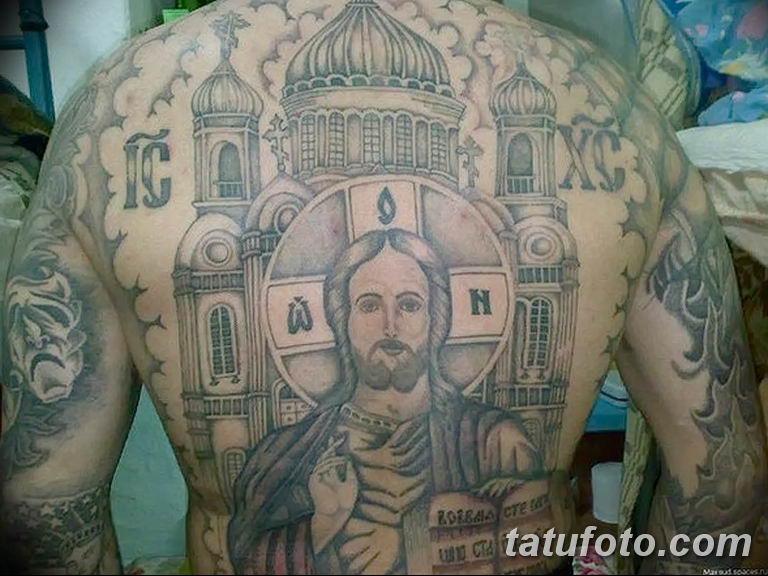 Фото тату икона святого 29.06.2019 №103 - tattoo icon of saint - tatufoto.com