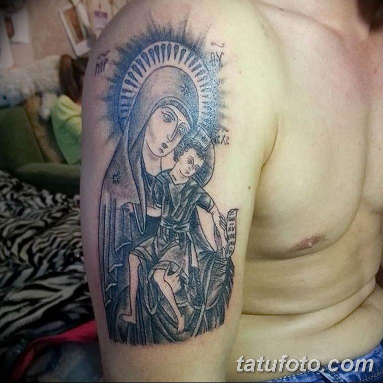 Фото тату икона святого 29.06.2019 №106 - tattoo icon of saint - tatufoto.com