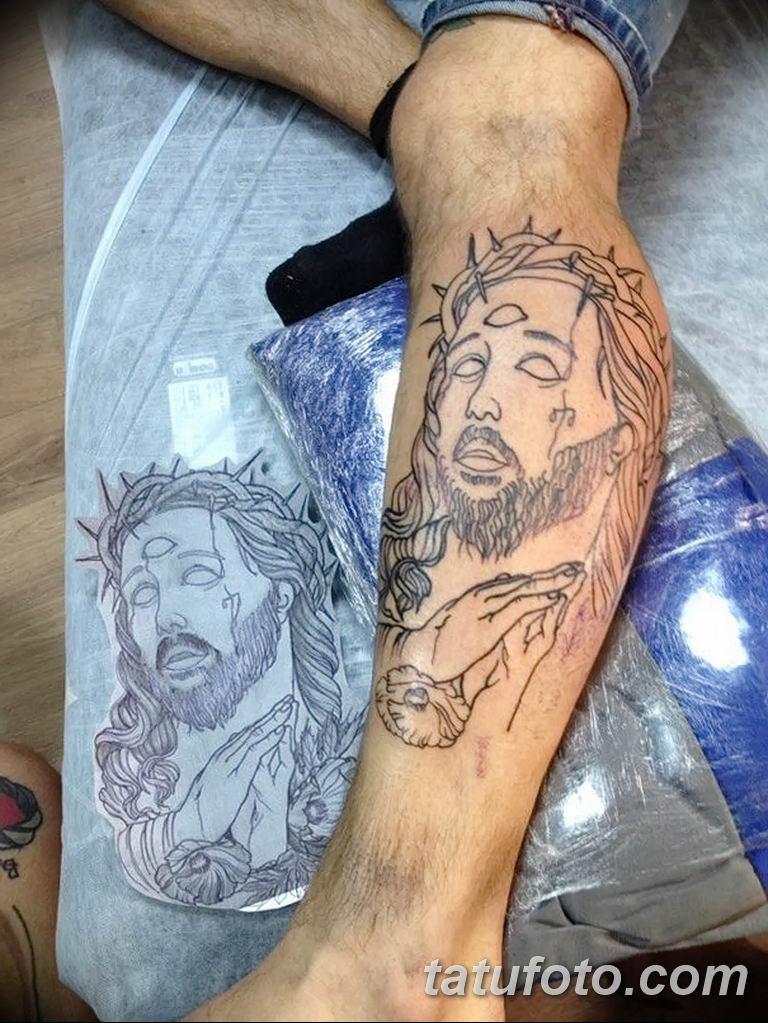 Фото тату икона святого 29.06.2019 №107 - tattoo icon of saint - tatufoto.com