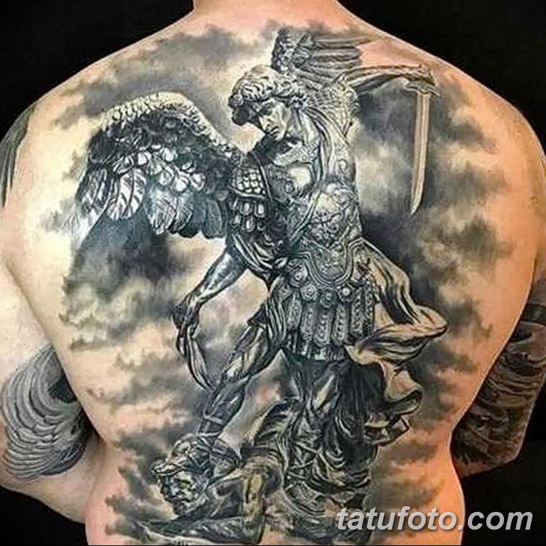 Фото тату икона святого 29.06.2019 №109 - tattoo icon of saint - tatufoto.com