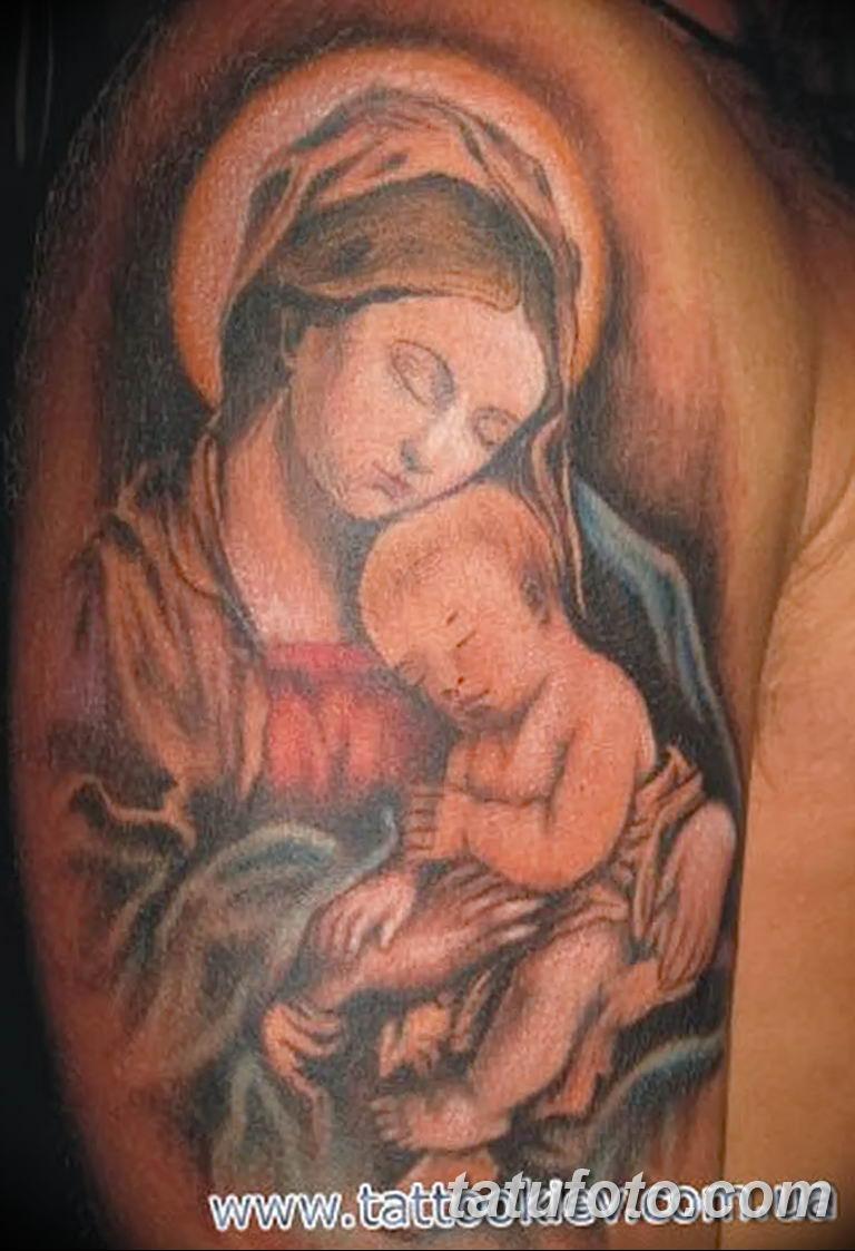 Фото тату икона святого 29.06.2019 №113 - tattoo icon of saint - tatufoto.com
