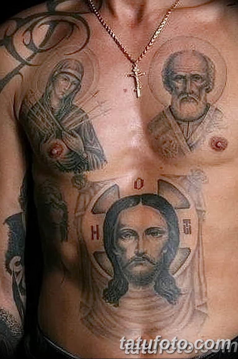 Фото тату икона святого 29.06.2019 №115 - tattoo icon of saint - tatufoto.com