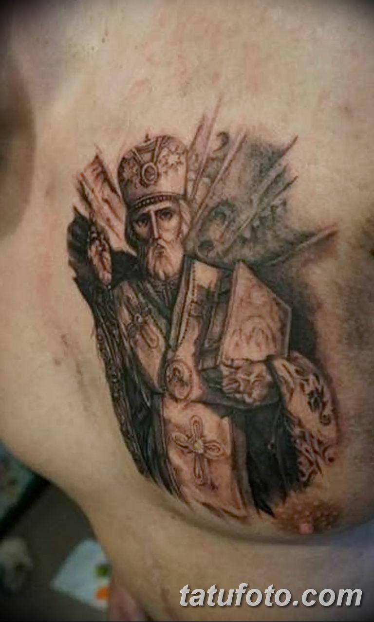 Фото тату икона святого 29.06.2019 №122 - tattoo icon of saint - tatufoto.com