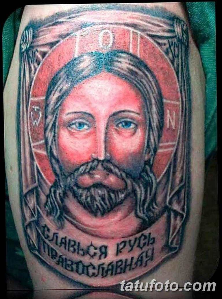 Фото тату икона святого 29.06.2019 №123 - tattoo icon of saint - tatufoto.com