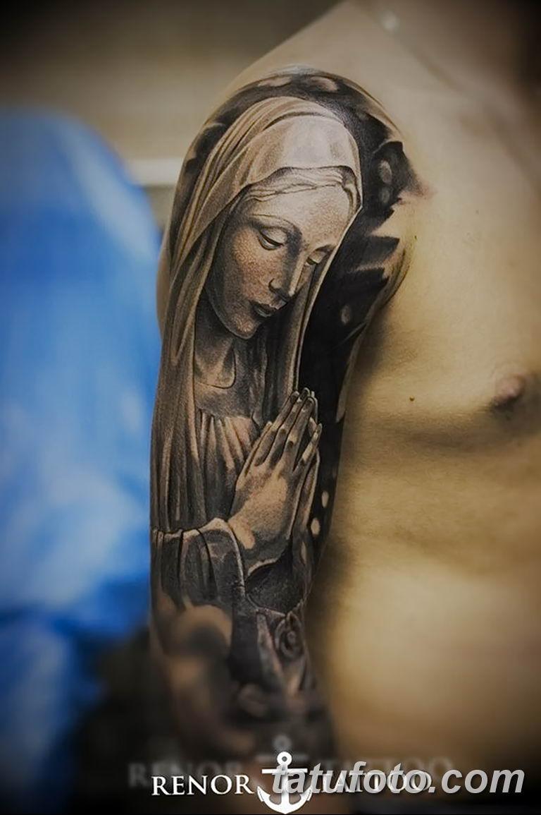 Фото тату икона святого 29.06.2019 №125 - tattoo icon of saint - tatufoto.com