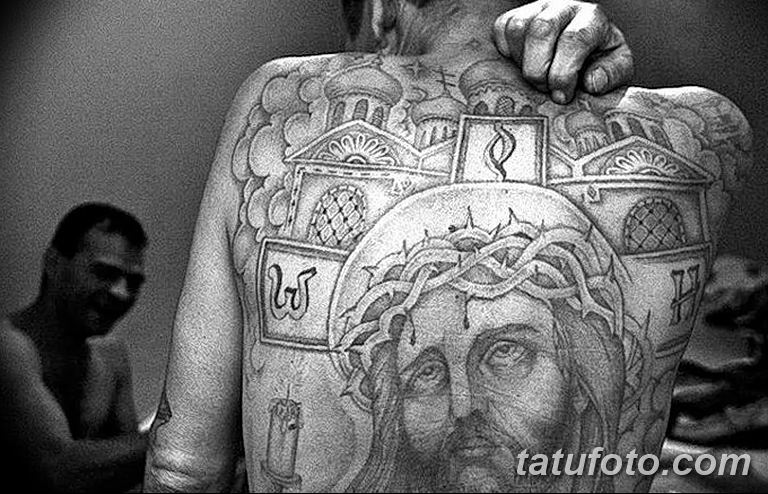 Фото тату икона святого 29.06.2019 №126 - tattoo icon of saint - tatufoto.com