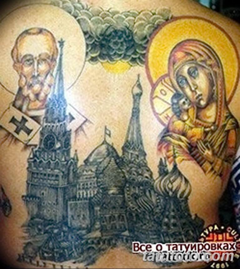Фото тату икона святого 29.06.2019 №127 - tattoo icon of saint - tatufoto.com