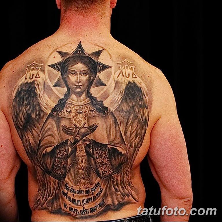 Фото тату икона святого 29.06.2019 №129 - tattoo icon of saint - tatufoto.com