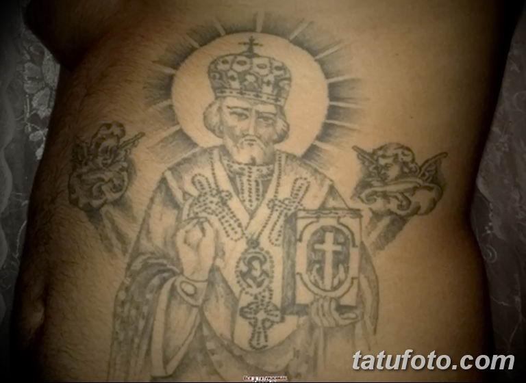 Фото тату икона святого 29.06.2019 №133 - tattoo icon of saint - tatufoto.com