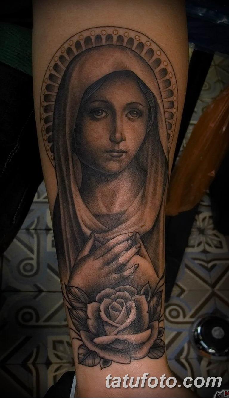 Фото тату икона святого 29.06.2019 №136 - tattoo icon of saint - tatufoto.com