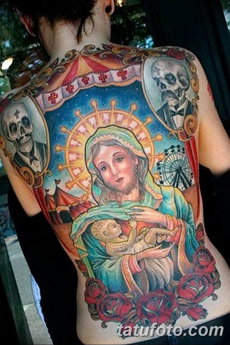Фото тату икона святого 29.06.2019 №145 - tattoo icon of saint - tatufoto.com
