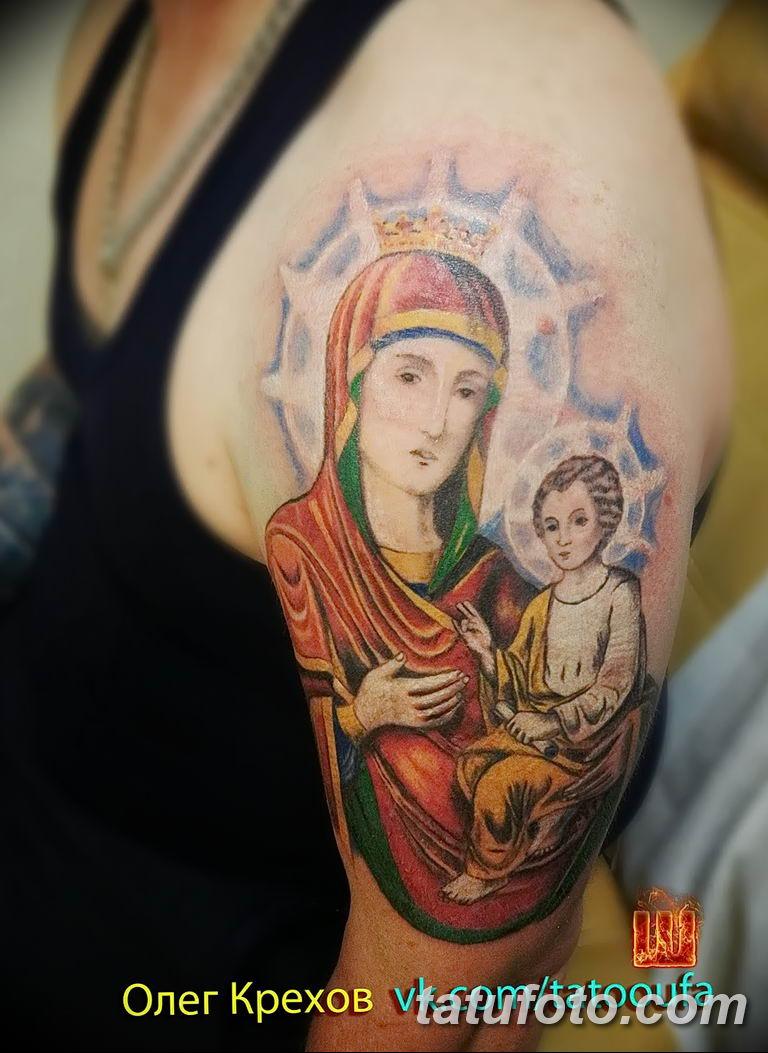 Фото тату икона святого 29.06.2019 №146 - tattoo icon of saint - tatufoto.com