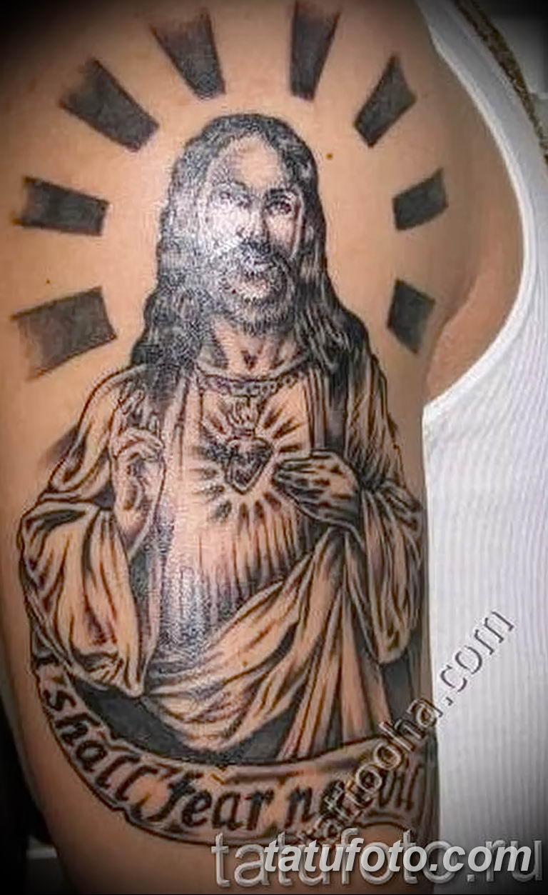 Фото тату икона святого 29.06.2019 №148 - tattoo icon of saint - tatufoto.com