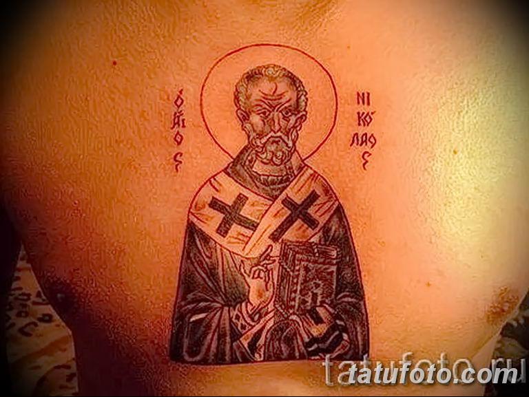 Фото тату икона святого 29.06.2019 №149 - tattoo icon of saint - tatufoto.com