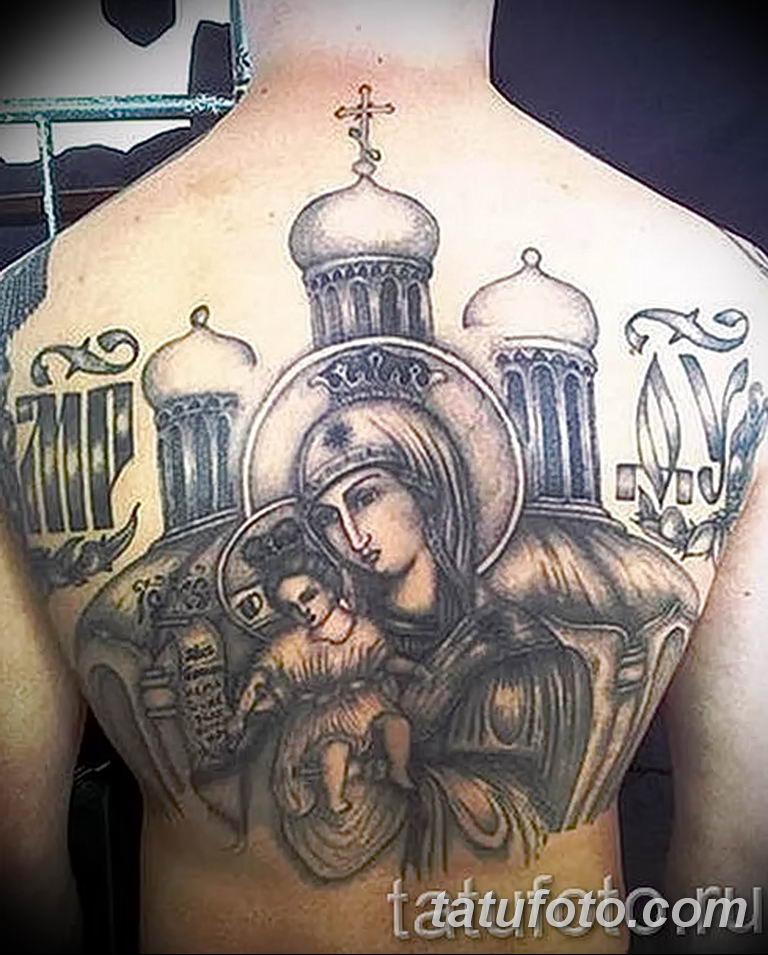 Фото тату икона святого 29.06.2019 №155 - tattoo icon of saint - tatufoto.com