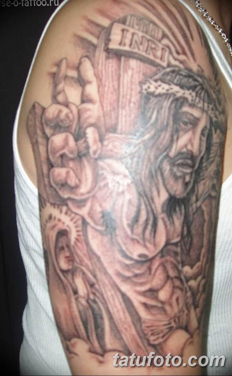 Фото тату икона святого 29.06.2019 №156 - tattoo icon of saint - tatufoto.com